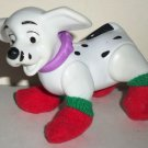 McDonald's 2000 Disney's 102 Dalmatians Dog with Red Stockings on Feet Happy Meal Toy Loose
