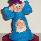 McDonald's 1993 Disney's Snow White and the Seven Dwarfs Dopey/Sneezy Happy Meal Toy Loose Used