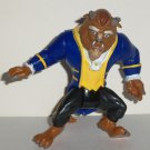 Burger King 1991 Disney's Beauty and the Beast Action Figure Kids' Meal Toy Loose Used