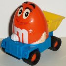 Burger King 1997 M&M Dump Truck Kids' Meal Toy  Loose Used