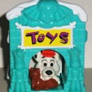 McDonald's 2000 Disney's 102 Dalmatians Dog in Light Blue Toys House Happy Meal Toy 101 Loose