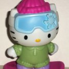 McDonald's 2011 Hello Kitty Snow Boarding Kitty Happy Meal Toy Loose