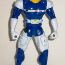 Power Rangers in Space Blue Battlized Action Figure Bandai 1998 Loose Used