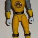 Power Rangers Ninja Storm Yellow Wind Flash Ranger Action Figure Loose Used