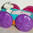 McDonald's 1998 101 Dalmatians Flip Car Dog in Bathtub Happy Meal Toy Loose
