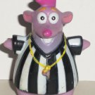 Fisher-Price Dora the Explorer Tico Squirrel Referee Figure from Soccer Adventure Set  Loose Used