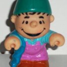 McDonald's 1990 Peanuts Linus Figure Only Happy Meal Toy Loose Used
