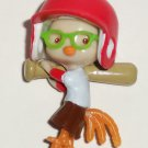 Disney's Chicken Little Batting Plastic Mini Figure Loose Used