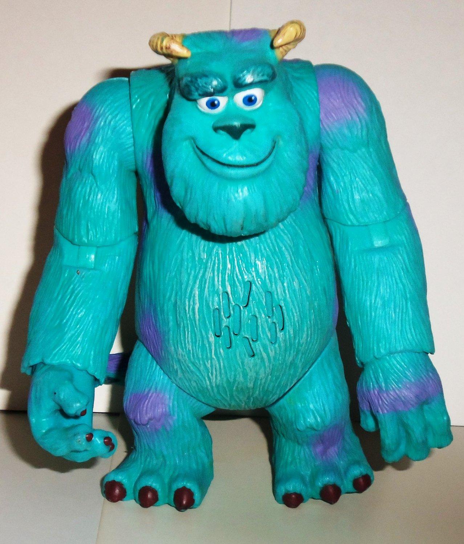 Disney Pixar 2001 Monsters Inc Top Scarer Sulley James P Sullivan Talking Action Figure Hasbro Loose