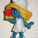 McDonald's 2011 Smurfs Smurfette PVC Figure Happy Meal Toy  Loose Used