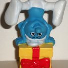 McDonald's 2011 Smurfs Jokey Smurf PVC Figure Happy Meal Toy Loose Used