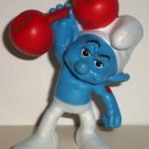 McDonald's 2011 Smurfs Hefty Smurf PVC Figure Happy Meal Toy  Loose Used