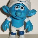 McDonald's 2011 Smurfs Panicky Smurf PVC Figure Happy Meal Toy  Loose Used