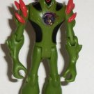 "Ben 10 Alien Force Swampfire 4"" Action Figure Bandai 2008 Loose Used"