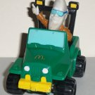 McDonald's 1988 Mac Tonight in Off-Roader Jeep Happy Meal Toy Hasbro Loose Used