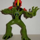 Ben 10 Alien Force Swampfire DNA Heroes Action Figure Bandai 2008 Loose Used
