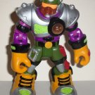 Fisher-Price Rescue Heroes PowerMax Rocky Canyon Mountain Hero Figure Only  Loose Used