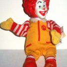 McDonald's 2002 World Childrens Day Ronald McDonald Finger Puppet Happy Meal Toy Loose Used