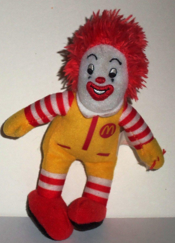 McDonald s 2009 Ty Teenie Beanie Babies Ronald McDonald Happy Meal Toy Loose 6b3d30fedda