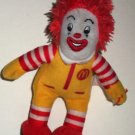 McDonald's 2009 Ty Teenie Beanie Babies Ronald McDonald Happy Meal Toy Loose
