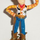 Disney's Toy Story Woody Thumbs Up Figure Cake Topper Thinkway Loose Used