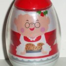 Playskool 2009 Weebles Mrs. Santa Claus with Cookies Figure Hasbro Loose Used