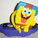 McDonald's 2012 SpongeBob Squarepants Sport Toys Skateboarder Happy Meal Toy Loose Used
