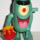 Burger King 2004 SpongeBob Squarepants Plankton Wind-Up Kids Meal Toy Loose Used