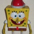 SpongeBob Squarepants Christmas Candy Buddy Empty Loose Used