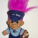 "Russ 5"" Mail Carrier Troll with Light Purple Hair Doll Loose Used"