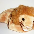 TY Beanie Babies Roary the Lion w/ Swing Tag 1996 Loose Used