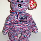 TY Beanie Babies U.S.A. the Bear w/ Swing Tag 2000 Loose Used