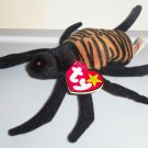 TY Beanie Babies Spinner the Spider w/ Swing Tag 1996 Loose Used