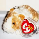 TY Beanie Babies Twitch the Guinea Pig Key-Clip w/ Swing Tag 2007Loose Used
