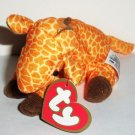McDonald's 1998 Ty Teenie Beanie Babies #3 Twigs the Giraffe Happy Meal Toy Loose Used