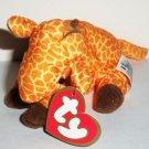 McDonald's 1998 Ty Teenie Beanie Babies #3 Twigs the Giraffe Happy Meal Toy Loose Used
