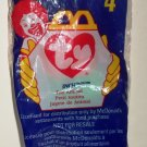 McDonald's 1998 Ty Teenie Beanie Babies #3 Inch the Worm Happy Meal Toy in Original Packaging