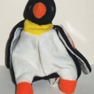 McDonald's 1998 Ty Teenie Beanie Babies Waddle the Penguin Happy Meal Toy w/ Swing Tag Loose Used
