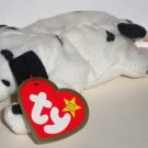 McDonald's 2000 Ty Teenie Beanie Babies Dotty the Dalmatian Damaged Swing Tag Loose