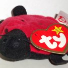 McDonald's 2000 Ty Teenie Beanie Babies Lucky the Ladybug Happy Meal Toy w/ Swing Tag Loose Used