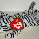McDonald's 2000 Ty Teenie Beanie Babies Blizz the White Tiger Happy Meal Toy Creased Swing Tag Loose