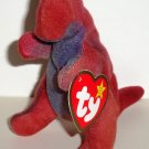 McDonald's 2000 Ty Teenie Beanie Babies Rex the Tyrannosaurus Happy Meal Toy w/ Swing Tag Loose