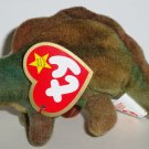 McDonald's 2000 Ty Teenie Beanie Babies Steg the Stegosaurus Happy Meal Toy w/ Swing Tag Loose