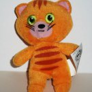 McDonald's 2009 Ty Teenie Beanie Babies Yammy the Cat No Swing Tag Loose Used