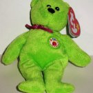 McDonald's 2009 Ty Teenie Beanie Babies Thirty The Bear Happy Meal Toy with Swing Tag Loose