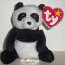 McDonald's 2009 Ty Teenie Beanie Babies Ming The Panda Damaged Swing Tag Loose