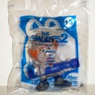McDonald's 2013 Smurfs 2 Hackus Smurf PVC Figure Happy Meal Toy Still in Original Package