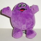 McDonald's 2009 Ty Teenie Beanie Babies Grimace Happy Meal Toy No Swing Tag Loose Used