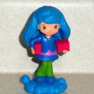 McDonald's 2011 Strawberry Shortcake Blueberry Muffin Doll Happy Meal Toy Loose Used
