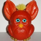 Burger King Furbies Dark Orange Furby with Flapping Ears 2005 Kids Meal Toy Loose
